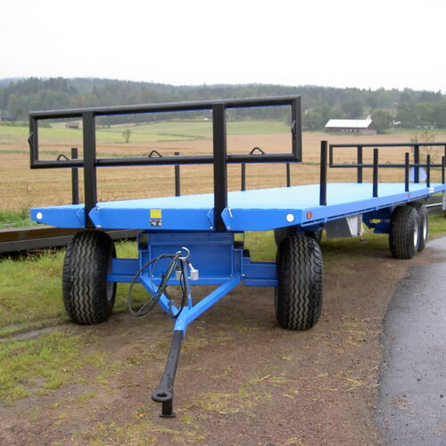 Vagnar med pendlande framaxel